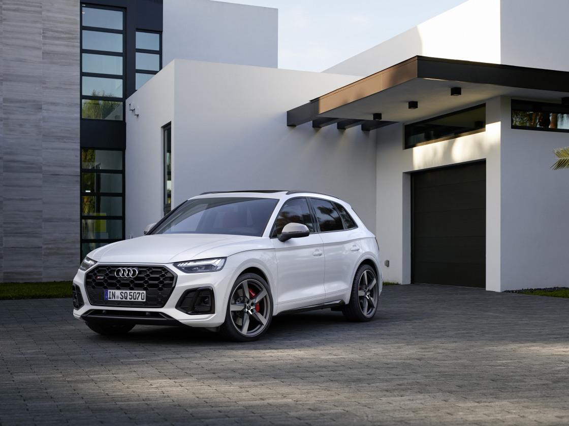 Audi presenteert SQ5 TDI 'nieuwe stijl'