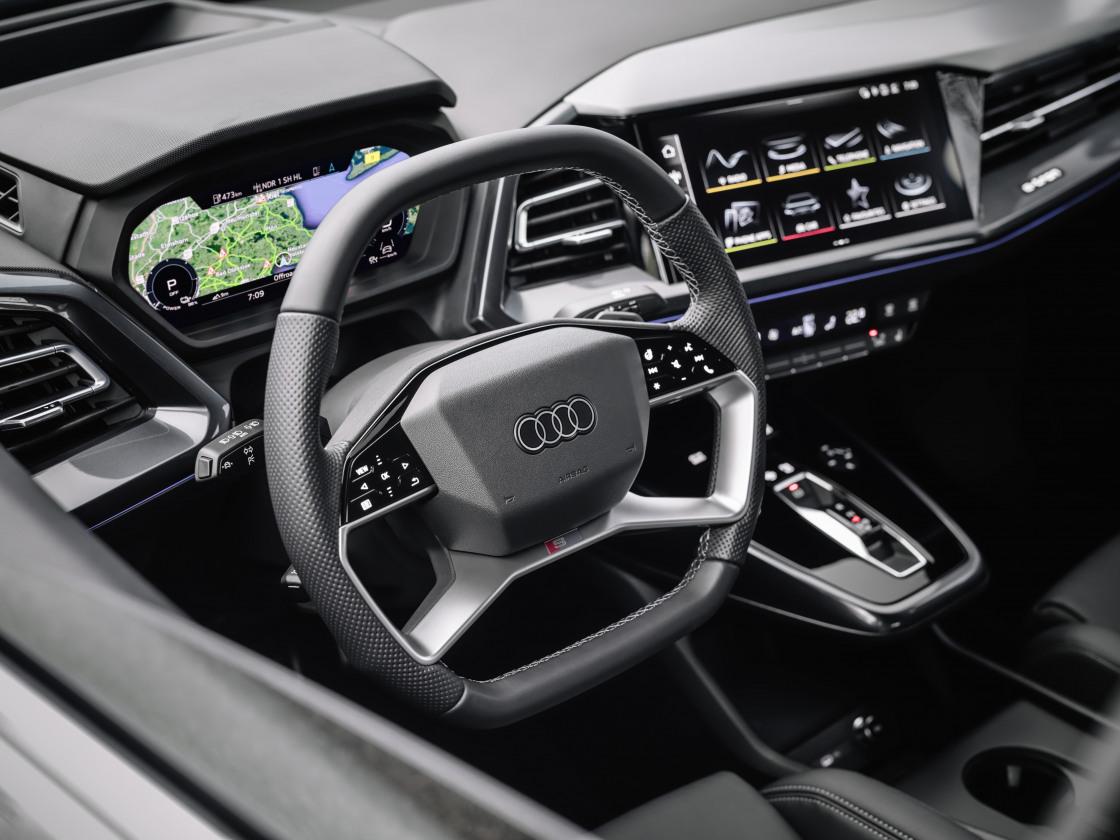 Audi Q4 Sportback e-tron: stijlvol elektrisch, nu te rijden