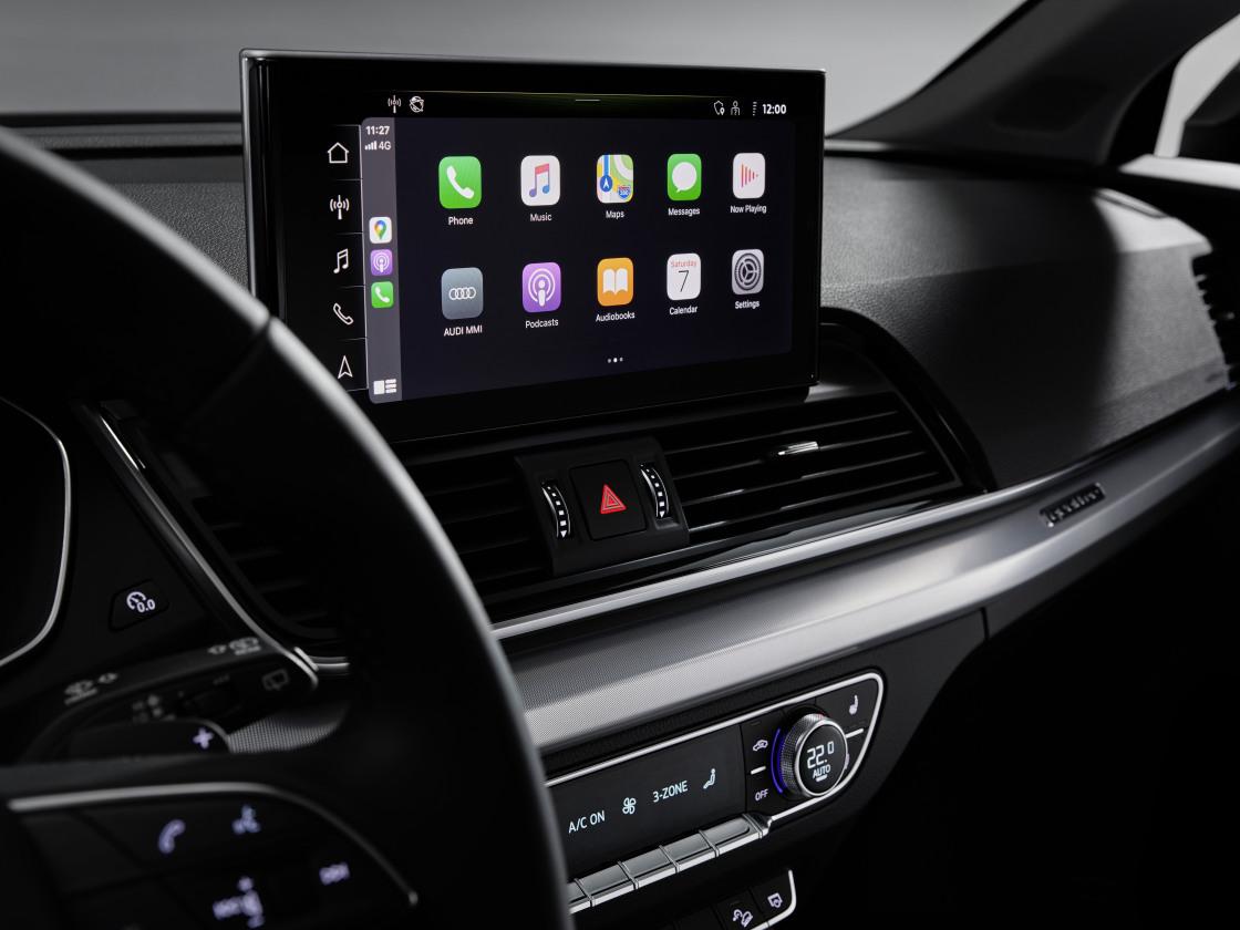 Innovatieve wereldprimeur voor vernieuwde Audi Q5