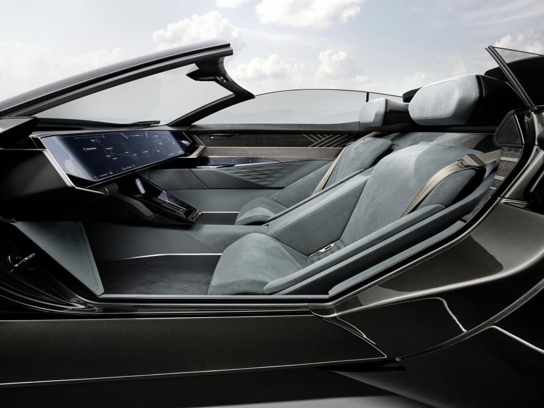 Audi skysphere: een nieuwe visie op flexibele ruimte