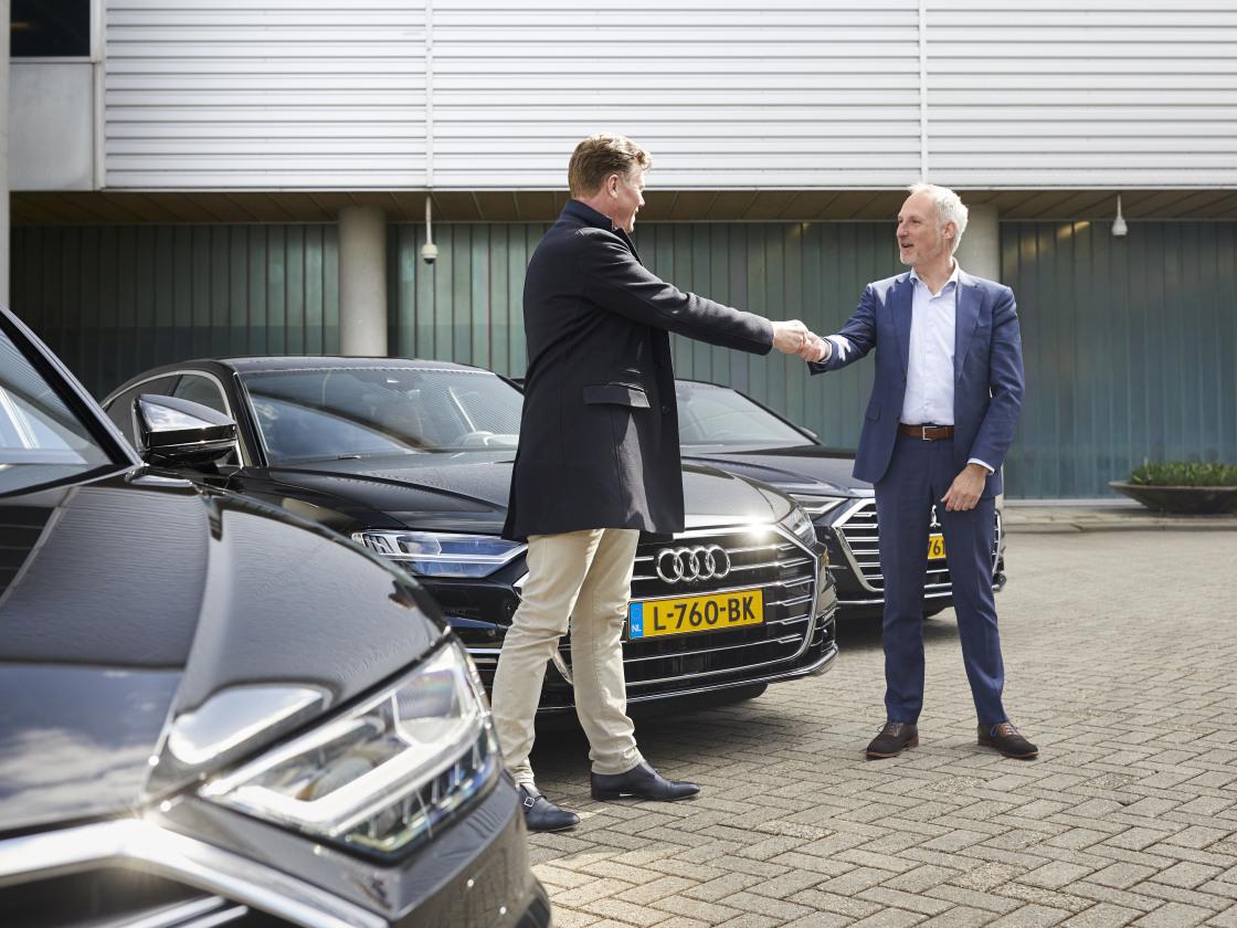 Schiphol VIP centre verwent gasten met de stijl en stilte van Audi
