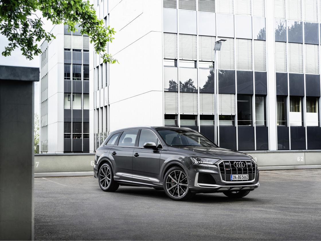 Audi SQ7 nu met 4.0 TFSI V8-motor