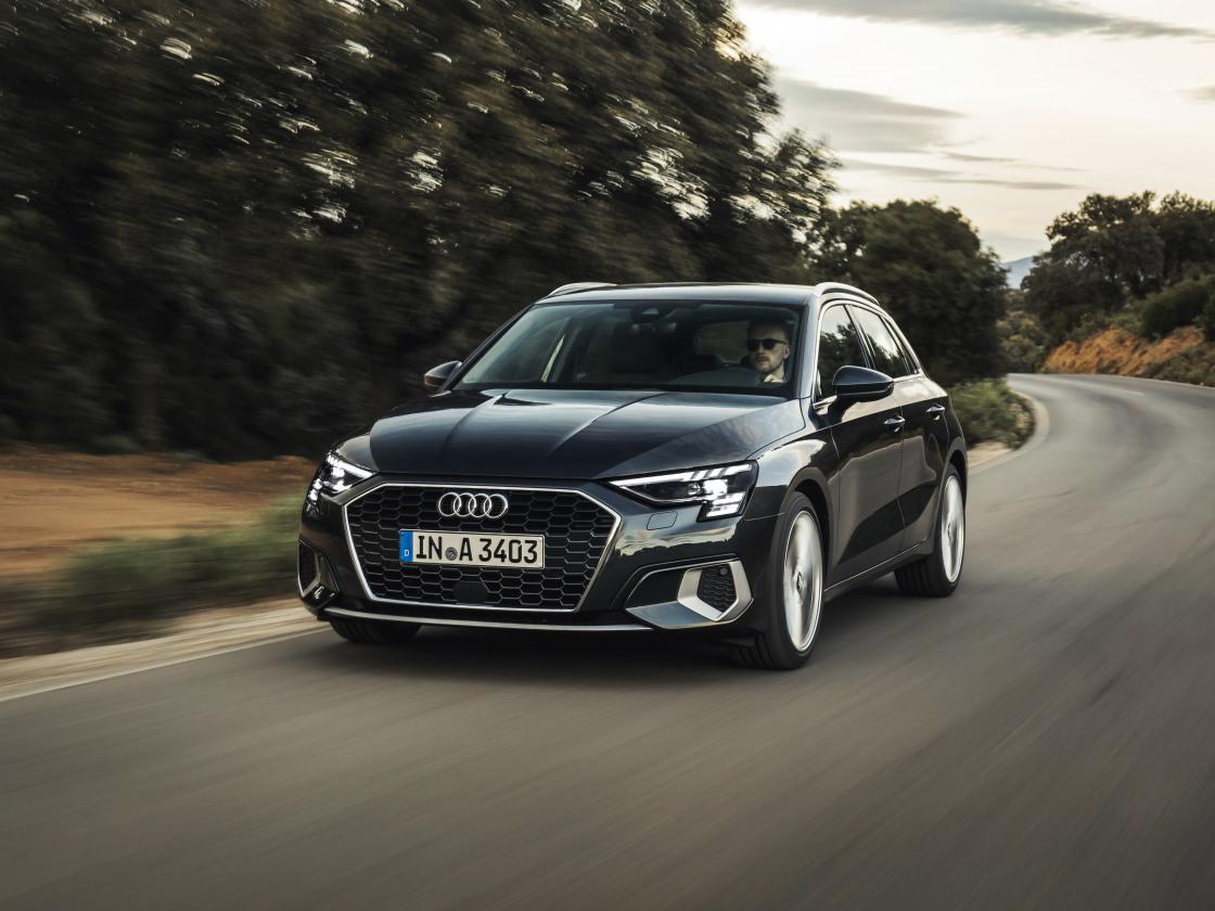 Online only: de Audi A3 Sportback Attitude
