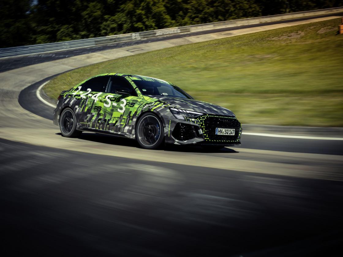Nieuwe Audi RS 3 breekt records op de Nürburgring