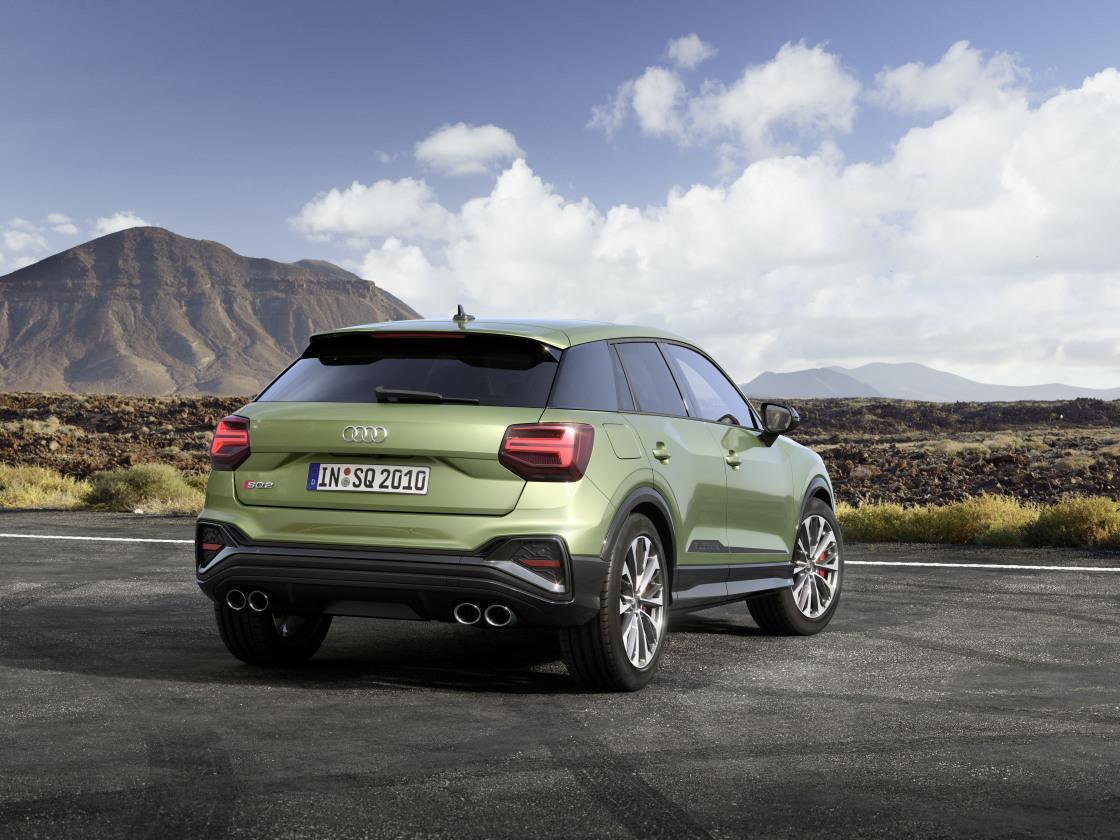 Pocket rocket SUV: de vernieuwde Audi SQ2
