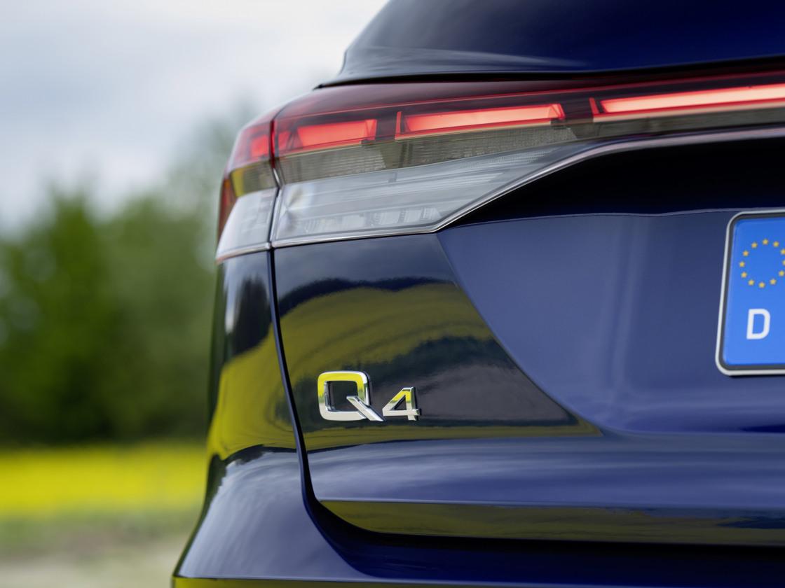 Audi Q4 e-tron voortaan als Edition, Advanced edition en S edition