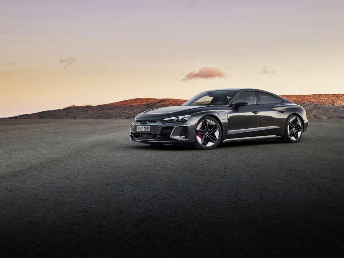 RS e-tron GT: de kracht van RS met de power van e-tron