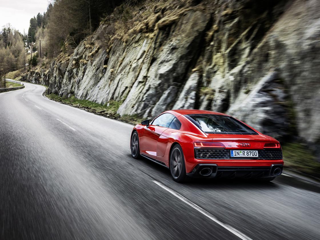 Voor de puristen: Audi R8 V10 performance RWD