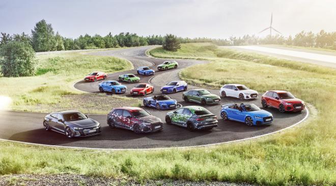 Audi Sport geeft RS high-performance elektrificatie-boost