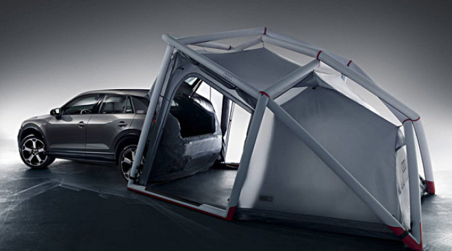 Audi Q2 tent