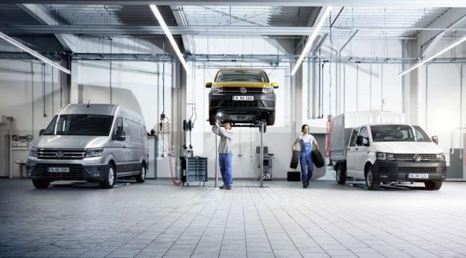 Volkswagen Bedrijfswagens Onderhoud