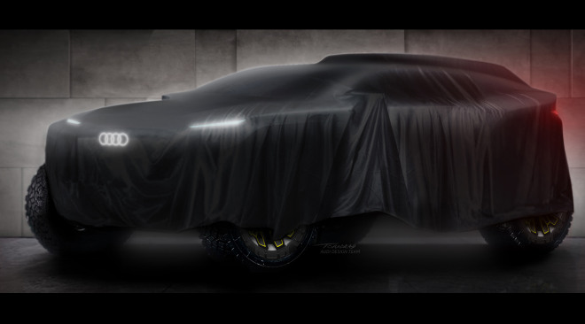 Audi van start in Dakar-rally 2022