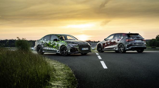 Nieuwe Audi RS 3: dynamischer dan ooit dankzij torque splitter op achteras