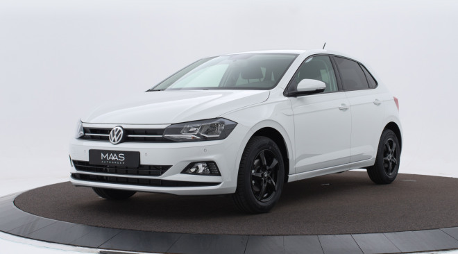 Volkswagen Polo Black Edition - wit