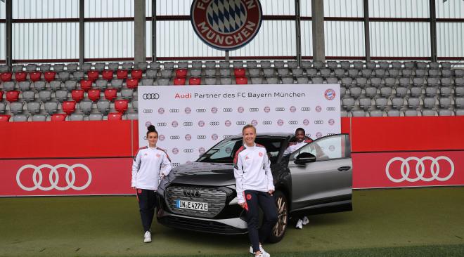 Audi partner FC Bayern München vrouwenvoetbal