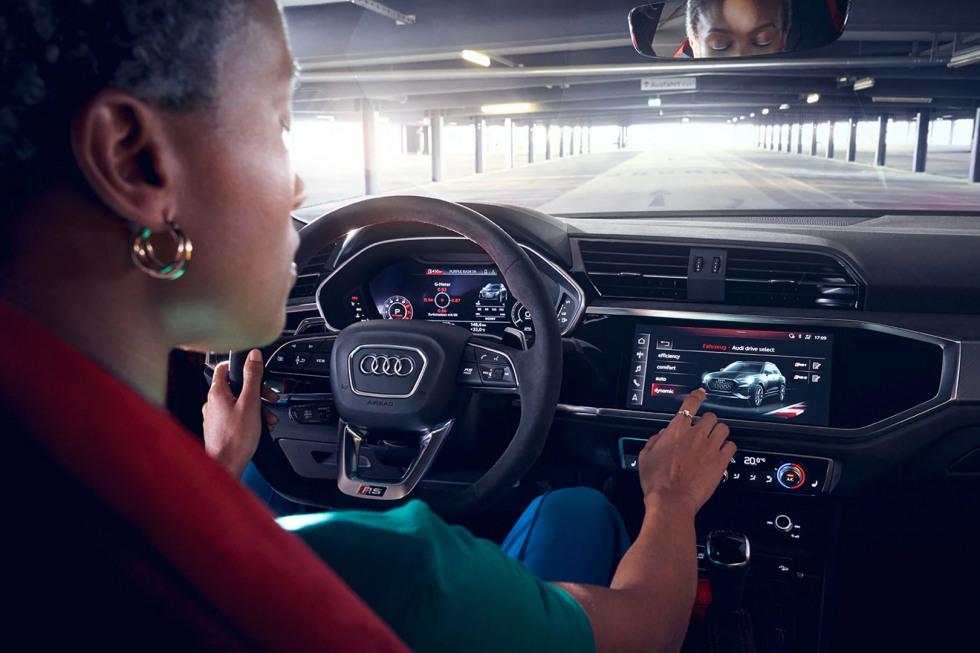 Audi Operation Display