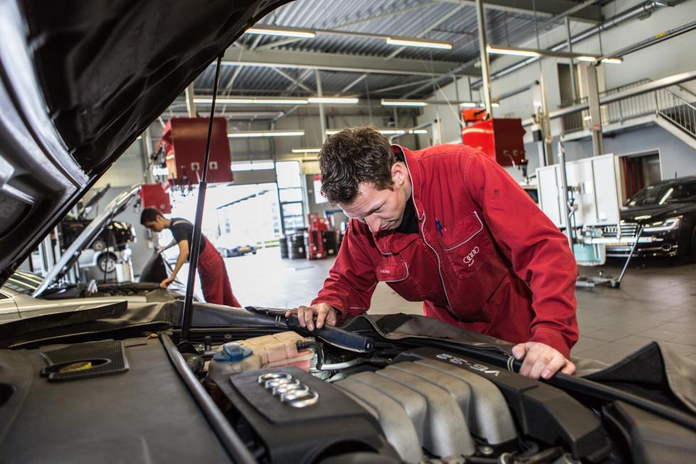 Maas Autogroep Moordrecht Werkplaats