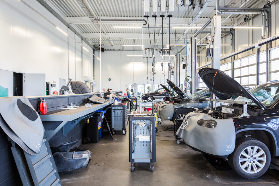 Maas Autogroep Woerden Werkplaats