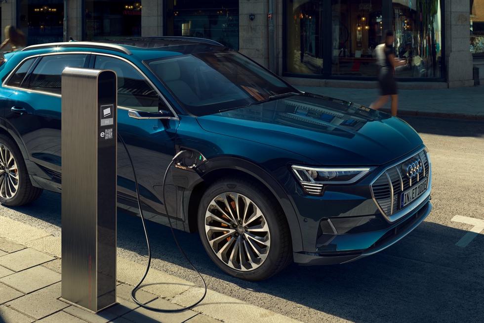 Audi opladen
