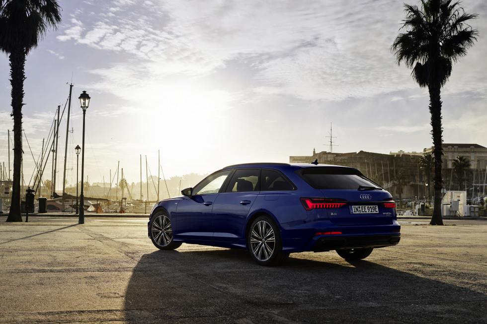 Audi breidt gamma A6 en A7 Sportback uit met mild-hybride en plug-in hybride benzinemotoren