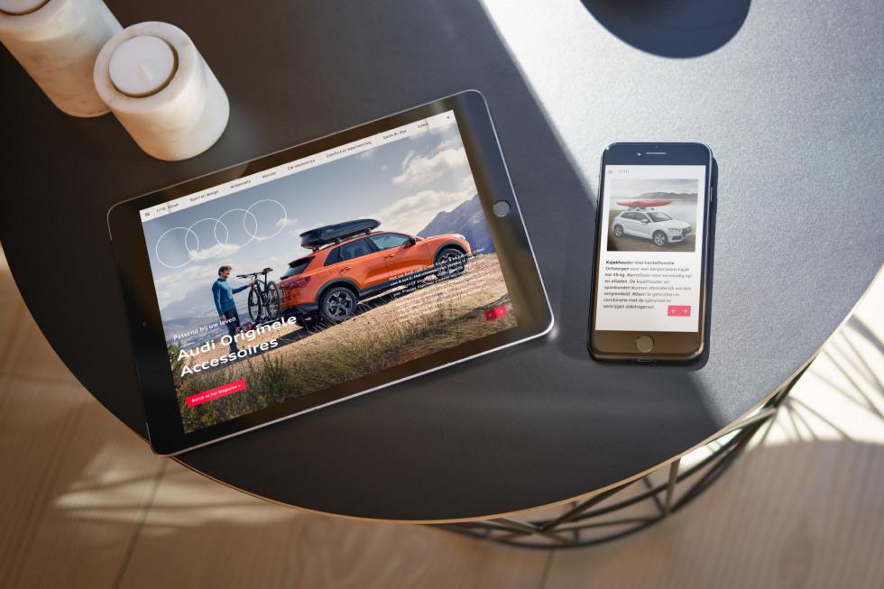 Audi inspireert klanten met digitaal accessoiremagazine